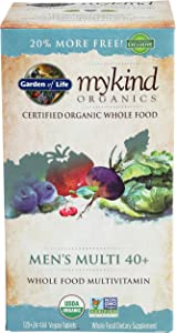 Garden Of Life, Mykind S Men's 40 Multi, 144 Tablets Organic