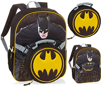 Amazon.com | DC Comics Batman Dark Knight Backpack with Detachable ...