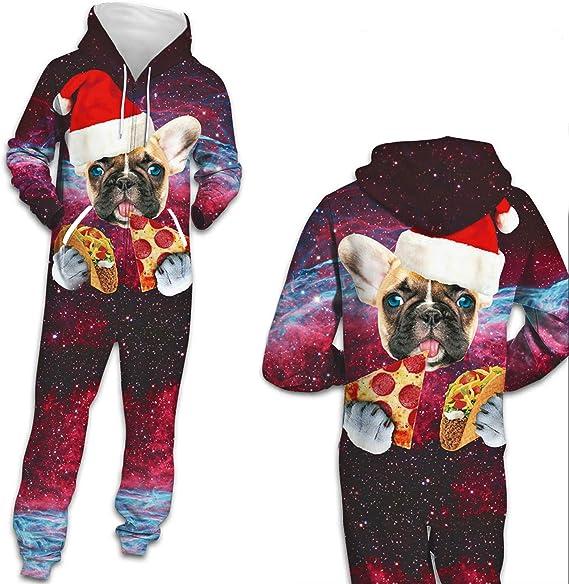 Pijamas Onesie para Mujeres y Hombres: Pijamas navideños feos ...
