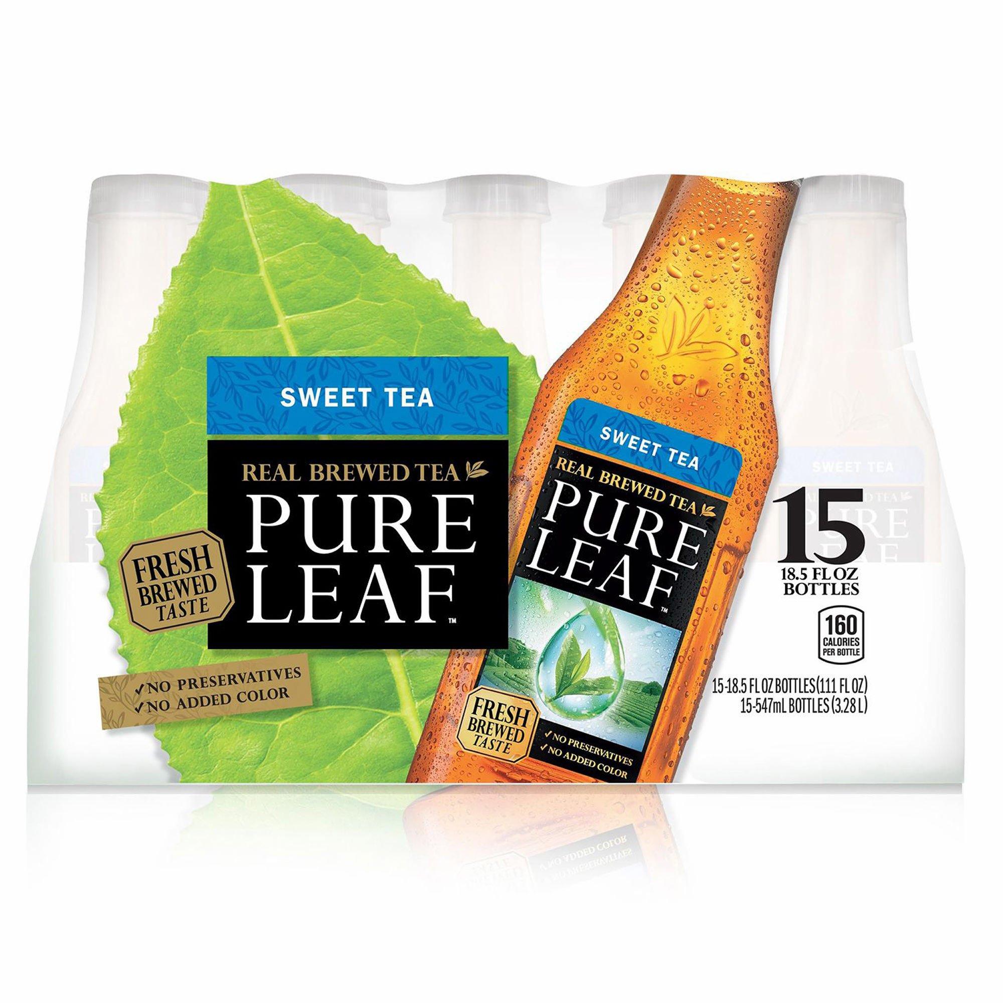 Pure Leaf Real Brewed Sweet Tea, 15 pk./18.5 oz. (pack of 6) by Pure Leaf (Image #1)