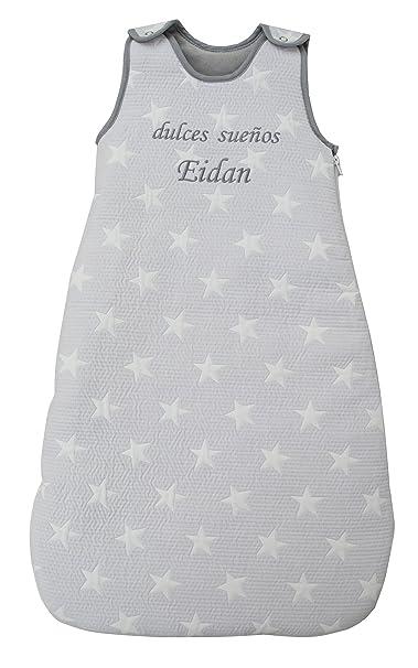 Saco de Dormir para bebé - niños de Invierno, Bordado con EL Nombre del BEBÉ. Varias Tallas: de 0 a 36 Meses: Amazon.es: Ropa y accesorios