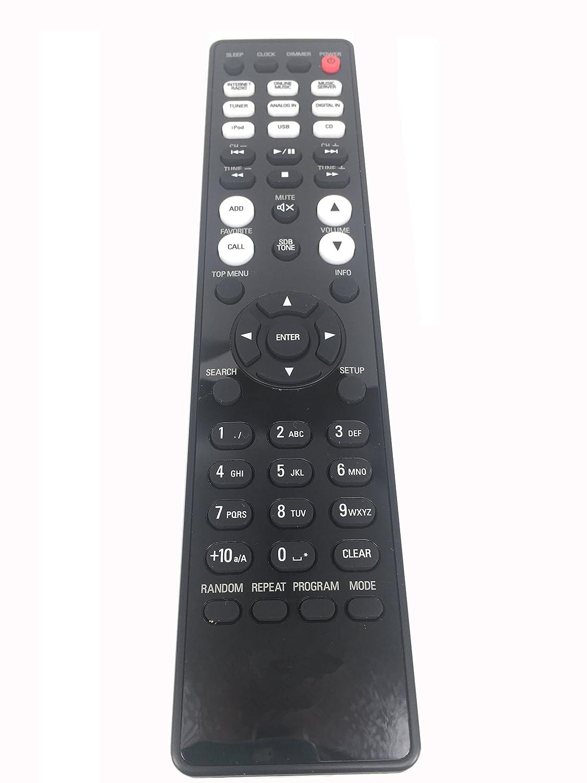 rlsales一般的な交換用のリモートコントロールrc-1174フィットfor Denon rcd-n8 K rcd-n9ネットワークCDレシーバーオーディオプレーヤー   B076CCS7XF