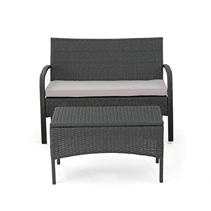 Amazon.com : Christopher Knight Home Cordoba Outdoor Wicker ...