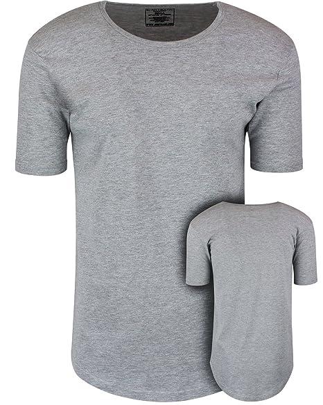 35c9369e84f ShirtBANC Mens Hipster Hip Hop Long Drop Tail T Shirts