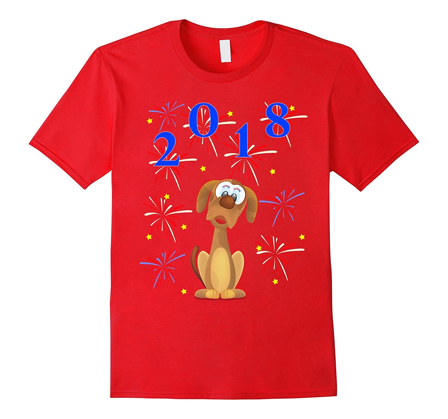 2018 HAPPY NEW YEAR T-SHIRT-Rose