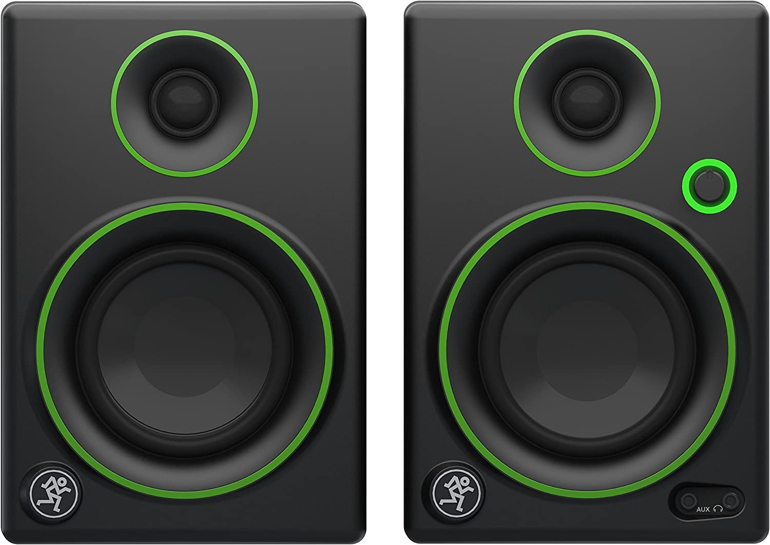 Mackie Studio Monitor, Black W/Green Trim