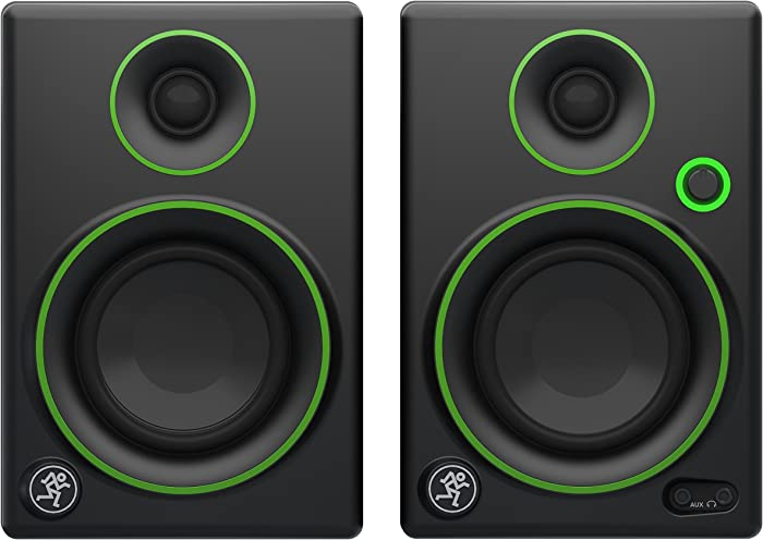 Mackie Studio Monitor, Black w/green trim, 3-inch (CR3)
