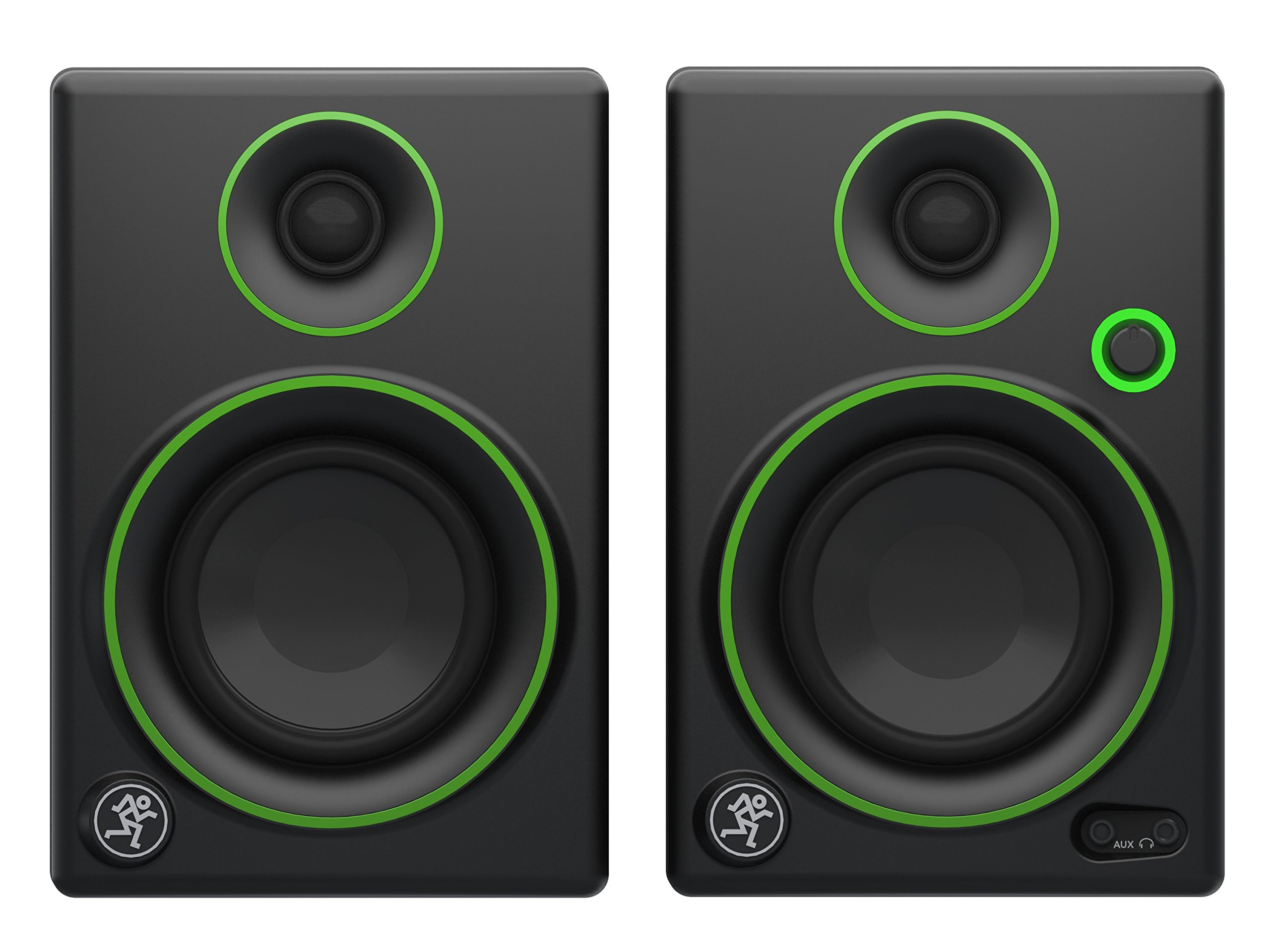 Mackie CR3 CR Series 3'' Creative Reference Multimedia Monitors (Pair), Black, 3''