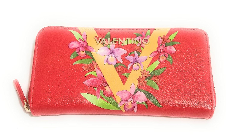 Valentino - Cartera para mujer Rojo roosso: Amazon.es: Equipaje