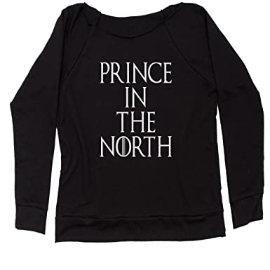 bd48fbc046 Amazon.com  Expression Tees Prince in The North Off Shoulder ...