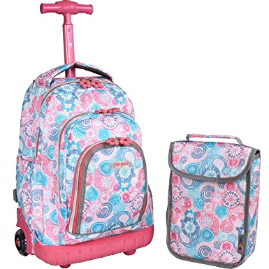 Amazon.com | J World New York Lollipop Kids' Rolling Backpack with ...