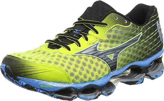 Mizuno Wave Prophecy 4 - entrenamiento/correr de sintético hombre, color Multicolor (Lime Punch/Black), talla 39: Amazon.es: Zapatos y complementos