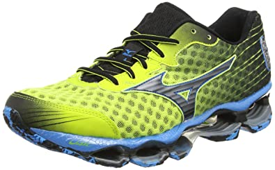 save off cf7ac 52073 Mizuno Wave Prophecy 4, Chaussures de Running Entrainement Homme -  Multicolore (lime Punch