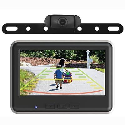 EchoMaster - Wireless Backup Camera and Color Monitor Kit - Black: Car Electronics