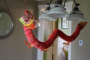 Fun Express Chinese Paper Dragon Decoration - 1 Piece
