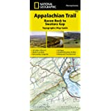 Appalachian Trail, Raven Rock to Swatara Gap [Pennsylvania] (National Geographic Trails Illustrated Map)