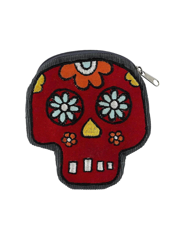 Living Goods Zippee Coin Pouch, Dia de los Muertos by ORE Originals   B00NFB5QIC