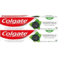 Colgate Essentials With Charcoal Toothpaste, 4.6 Ounce, 2 Count