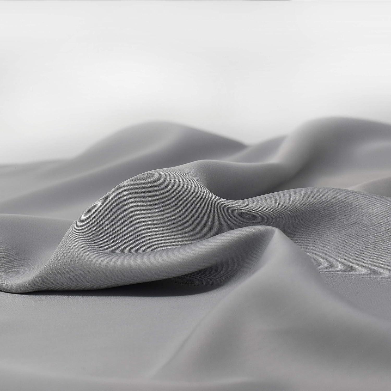 Panda 100/% Bamboo Duvet Cover Pure White, UK Double 200 x 200 cm
