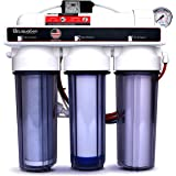 Hydroponic (Plant Growth) - High-Efficiency Permeate Pumped Reverse Osmosis Water Filter System for Low Water Pressure…