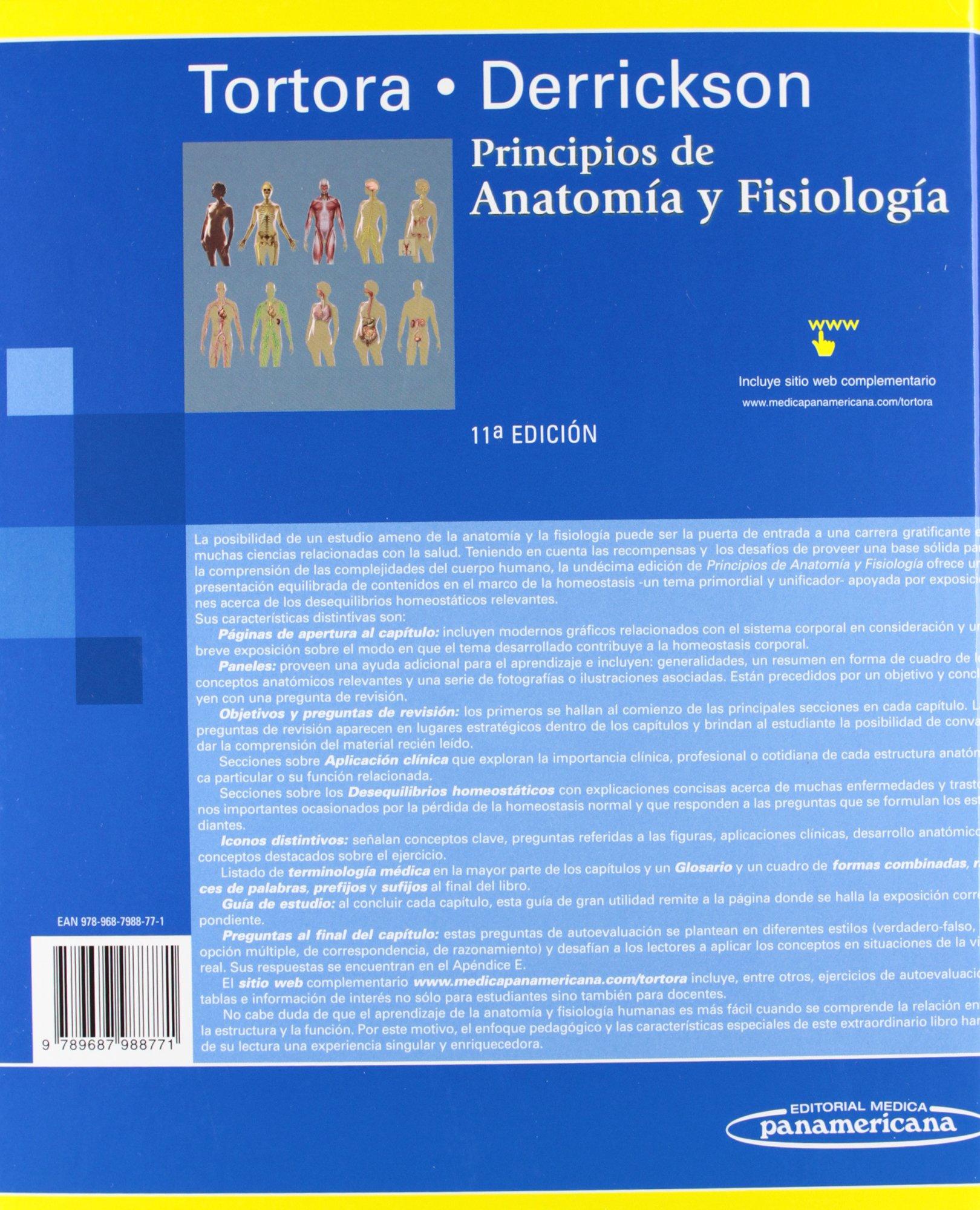 Principios de Anatomía y Fisiología.: Amazon.es: Gerard Tortora ...