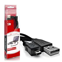 ABC Products® Replacement Sony Alpha / Cybershot USB Cable Cord Lead (For Image Transfer / Battery Charger - Supports Charging in Select models) for Select Alpha D-SLR / Cyber-Shot Digital Camera (Models Stated Below)