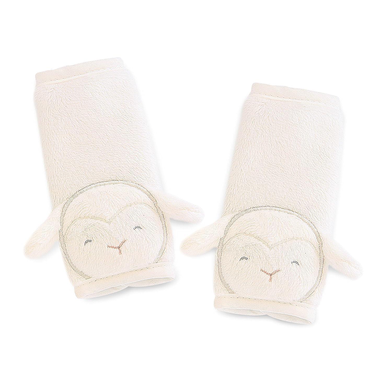 White Animal Lamb Carters Plush Strap Covers