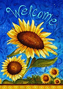 "Toland Home Garden 119500 Sweet Sunflowers 12.5 x 18 Inch Decorative, Garden Flag (12.5"" x 18""), Double Sided"