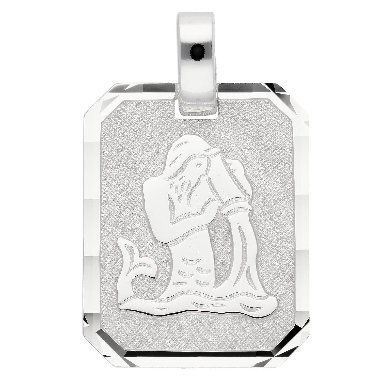 Silber Sternzeichen Anhänger Wassermann 925 Sterling Silber 1001 JEWELS MAX__96-001