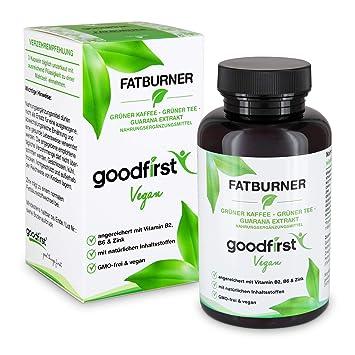 Fatburner Gruner Kaffee Gruner Tee Guarana Extrakt 90 Vegane