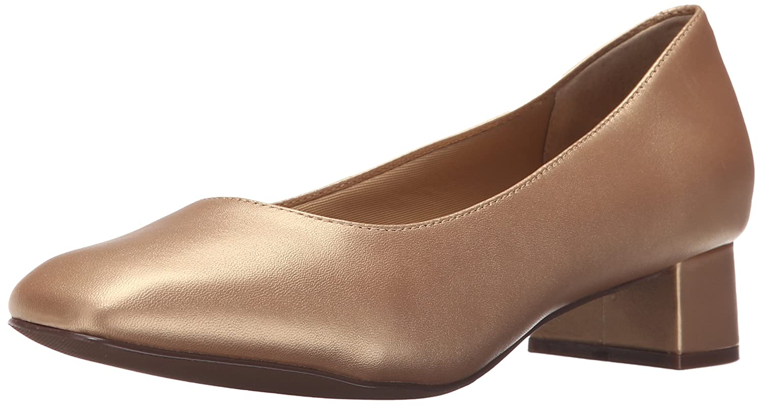 Trotters Women's Lola Dress Pump B011EWYF80 10.5 N US|Goldwash