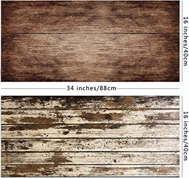 2 In 1 Retro Holz Hintergrund Vintage Holz Textur Foto Kamera