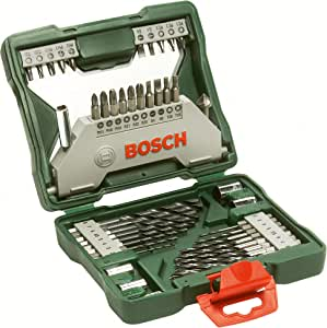 Bosch 43 Piece X-Line Drill and Screwdriver Bit Set (For Wood and Metal)