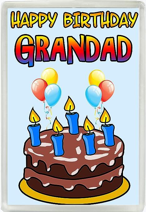 De cumpleaños para texto para tartas y velas Jumbo imán para ...