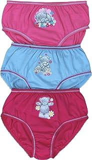 Tatty Teddy Girl's Bear Hipster Briefs Pants Set (3 Pair Pack)