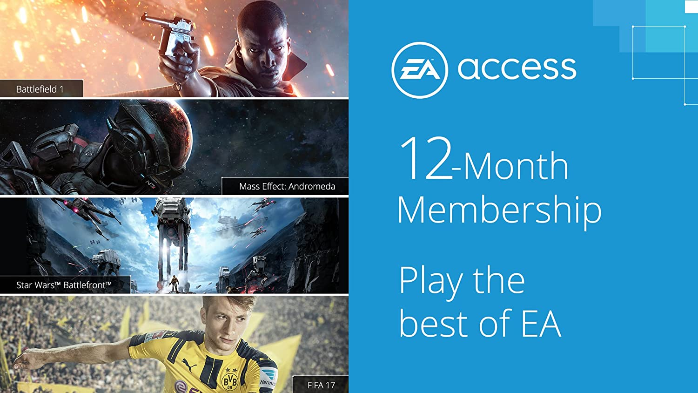 Amazon com: EA Access 12 Month Subscription - Xbox One [Digital Code