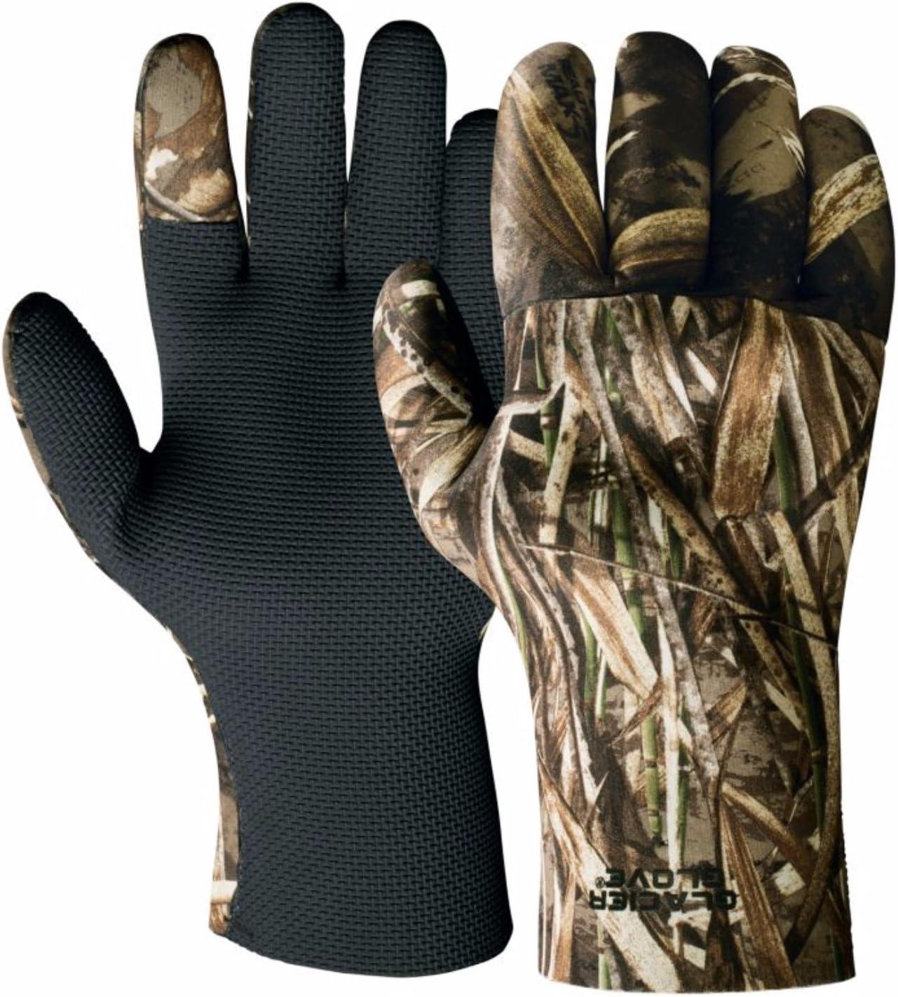 Amazon.com : Glacier Glove Aleutian Full-Fingered Neoprene Fleece Lined Glove : Fishing Gloves : Sports & Outdoors
