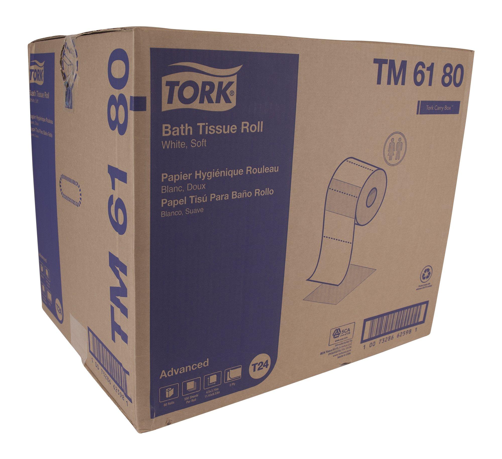 Tork Advanced TM6180 Soft Bath Tissue - case