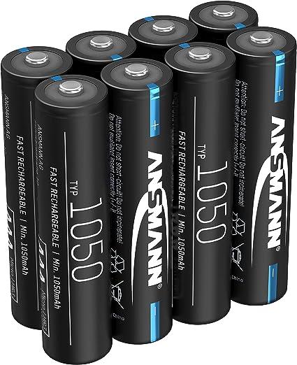 Ansmann Akku Aaa 1050mah Nimh 1 2v Micro Aaa Elektronik