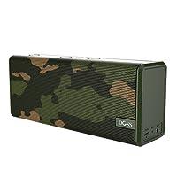 DOSS SoundBox Couleur Enceinte Bluetooth Portable 12W,Graves Améliorées, 12 Heures de Jeu et Mains Libres. [Camoufage Vert]