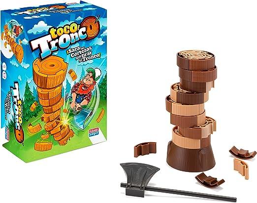 Falomir- Toco Tronco Juego De Habilidad (28401): Amazon.es: Juguetes y juegos