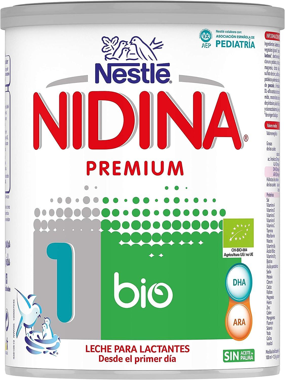Nestlé NIDINA 1 BIO Leche para lactantes en polvo Bio certificada ...