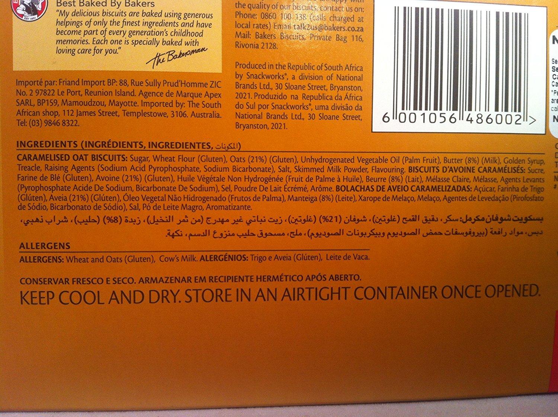 nuttikrust caramelised Avena Galletas: Amazon.com: Grocery ...