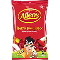 ALLEN'S Retro Party Mix Bulk Bag Lollies 1kg