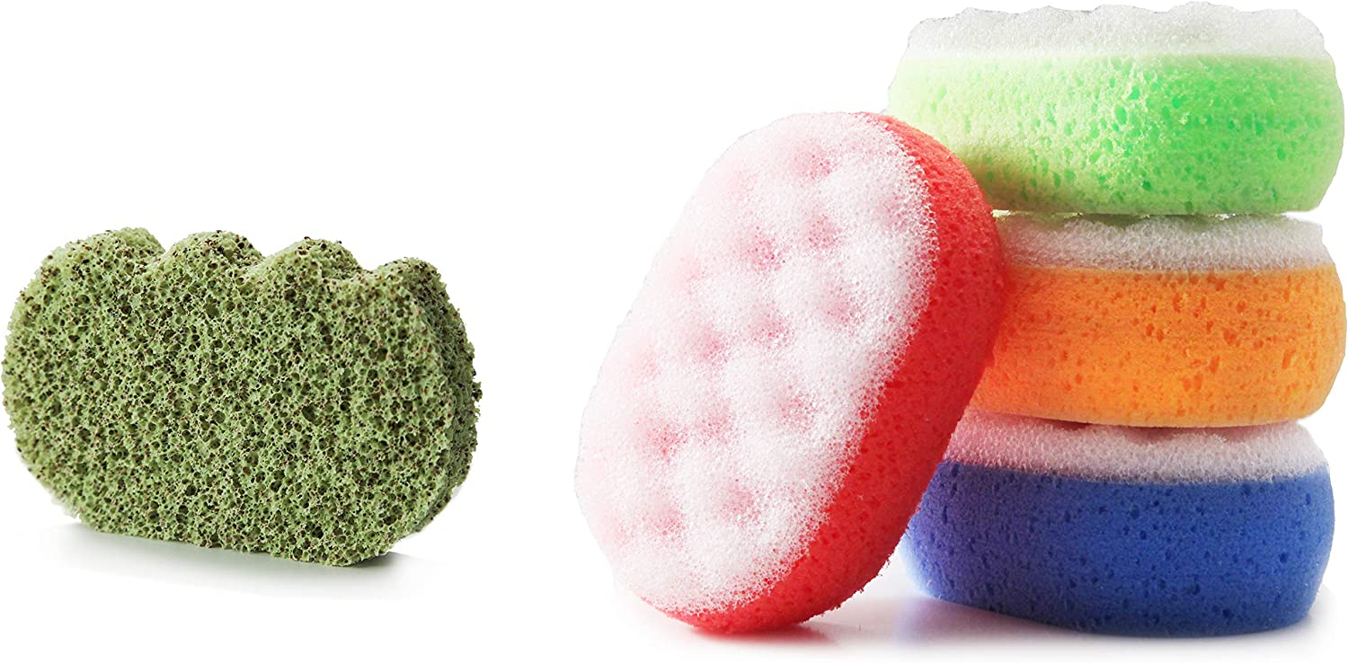 TIVIT Martini Bath & Facial Sponge