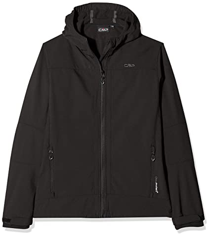 Taille Veste Anthracite 24 Softshell Chiné wnngvqxY7