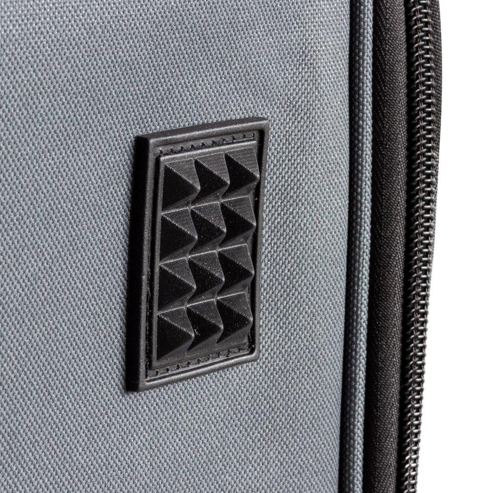 Black Fauna Folding Lightweight Pet Cat Dog Travel Car Seat Booster Carrier Crate Bag