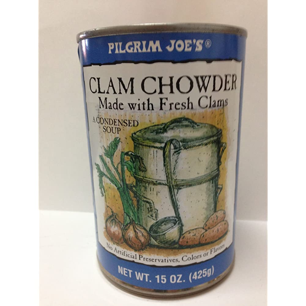 Pilgrim Joe's Clam Chowder Review