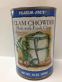 Pilgrim Joe's Canned Clam Chowder