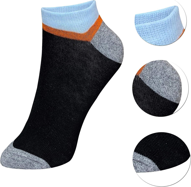 21-36 weich und super angenehme Qualit/ät 12 Paar Kinder Jungen M/ädchen UNI Baumwolle Socken Kindersocken Sneaker Gr